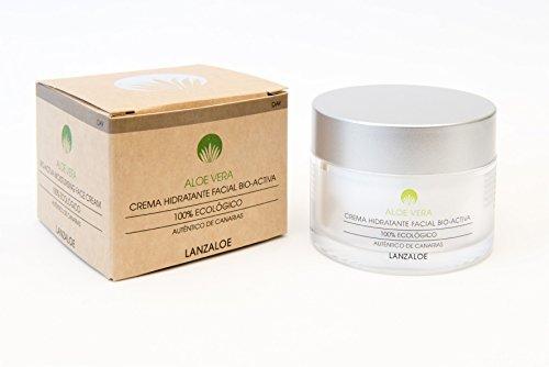 Lanzaloe crema hidratante facial Bio-activa (día) de Aloe Vera 50ml