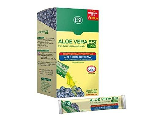 ESI Aloe Vera Zumo +Forte Mirtilo – 24 Unidades en oferta