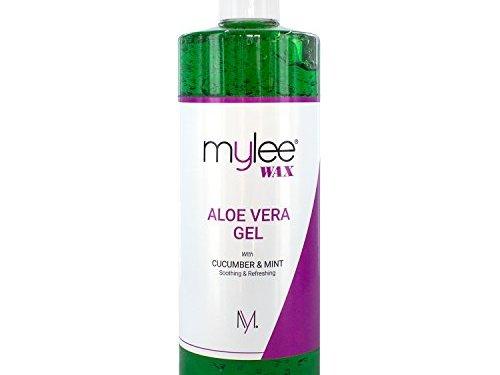 Mylee Pure Gel Calmante Aloe Vera para Después de la Depilación Tratamiento para la Piel Post Depilación 500 ml en oferta