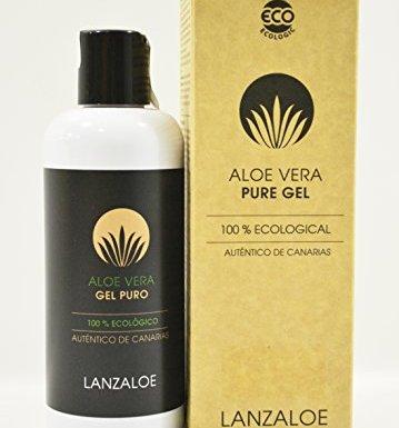 Lanzaloe gel puro de Aloe Vera 100% ecológico 250ml en oferta
