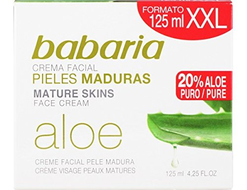 Babaria Crema Facial Nutritiva Aloe Vera – 125 ml