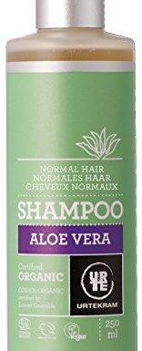 Urtekram Champú de Aloe Vera BIO, cabellos normal, 250 ml