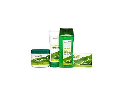 TABAIBA Cosmética Natural Aloe Vera, Neceser Viaje Set Baño y Cuidado personal