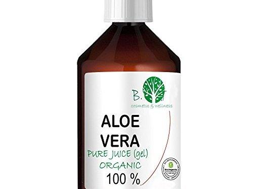 Gel Zumo de Aloe Vera 99.9 % Puro Ecológico (1000 ml)