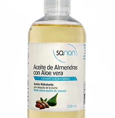 Sanon Aceite de Almendras con Aloe Vera – 2 Unidades