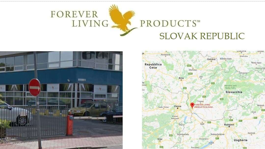 Forever Living Products SLOVAK REPUBLIC – register and buy online