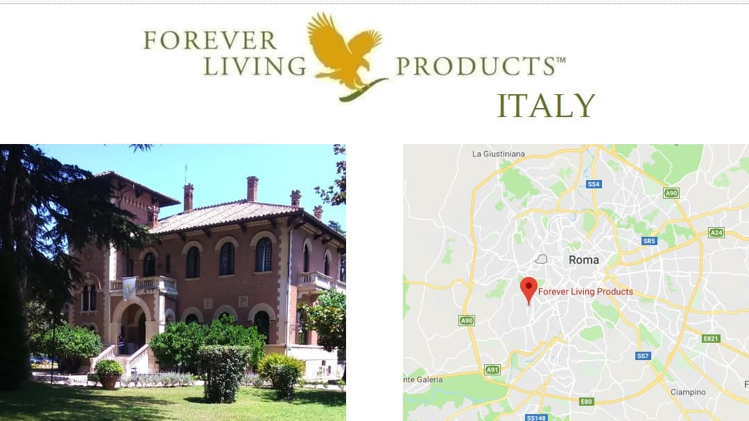 Forever Living Products ITALY – register as a distributor and shop online