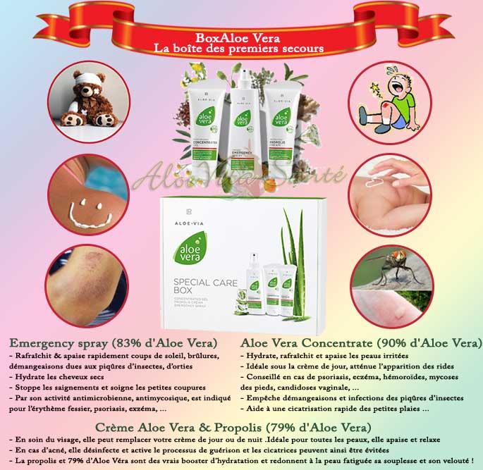 Box Aloe Vera - Le Set de soins premiers secours