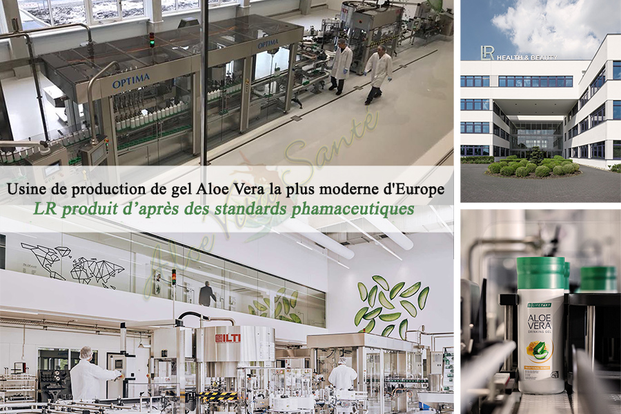 LR - Usine de production de gel Aloe Vera la plus moderne d'Europe