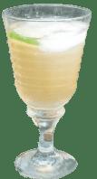 Cocktail Aloe Apple Pilar