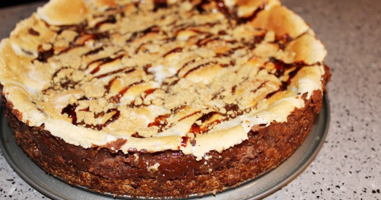 "<span class=""entry-title-primary"">Celebrating National S'mores Day with S'mores Cheesecake!</span> <span class=""entry-subtitle"">Because If A Holiday Doesn't Center Around Chocolate, Is It Really a Holiday?</span>"