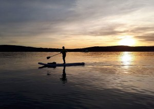 Aloha Dalmatia | Sunset in Split paddle