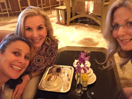 Lisa Z, me & Lynne S @ Emirates Palace