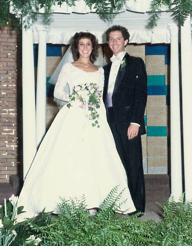 Denise & Mark's wedding photo June 23, 1985