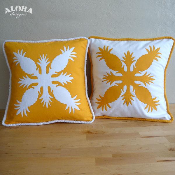Aloha Designs Hawaiian Quilt Pillow Covers