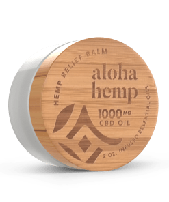 Final Bamboo 1000mg Hemp Relief Balm - Front Side 2