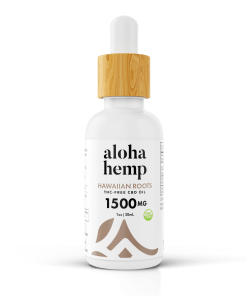 Hawaiian Roots - 1500mg THC FREE - Transparent - 1 bottle
