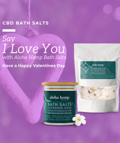 Valentines Bath Salts - purple picture
