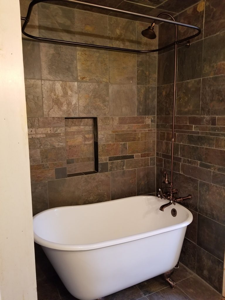 Clawfoot Bathtub And Custom Tile Gettysburg Pa