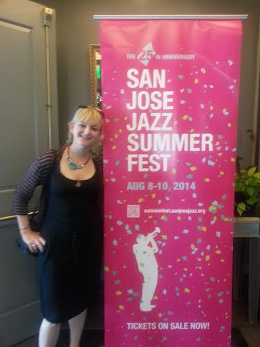 San Jose Jazz Festival Party.