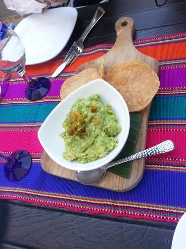 Guacamole & fresh hard corn tortillas