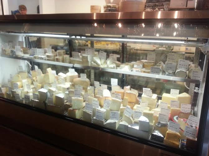 The Cheese Cave. Yum!
