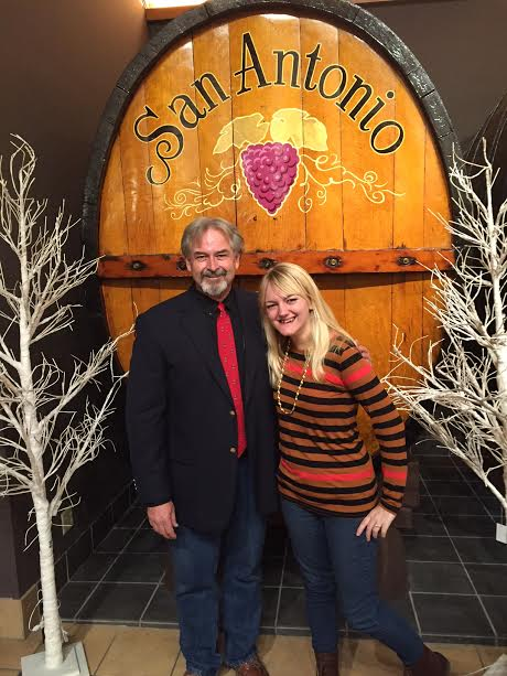 San Antonio Winery Manager, Dominic Menton.