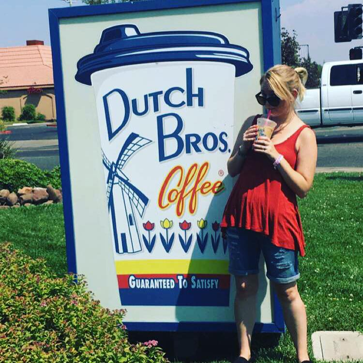 My 1st Dutch Brothers coffee!