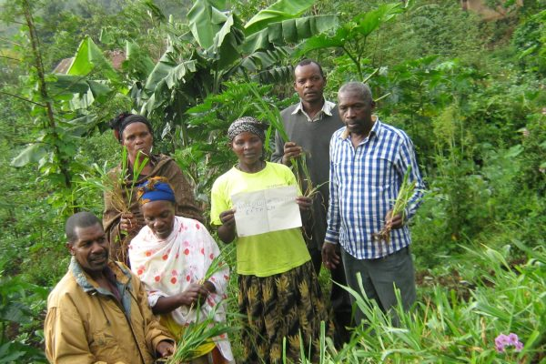 Obumwe loan recipients conserve their environment
