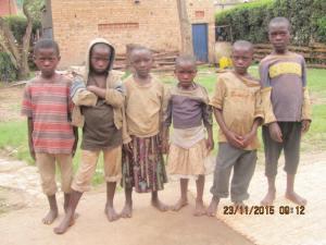 Needy but optimistic children