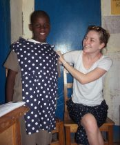 Sharing a special time with a sponsored child