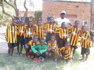 Amasiko Under 10 football team