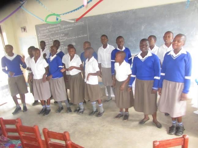 Amazing love school students in classroom