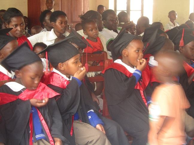 Amazing love school sponsored children at a graduation ceremony