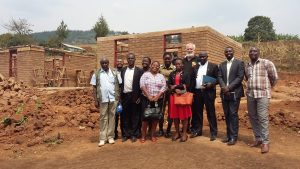Local administrators at the Halfway House site