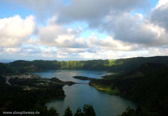 Lagoa Azul und Lagoa Verde