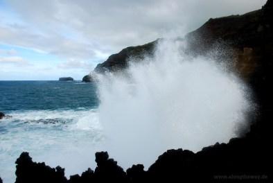 Wellen auf den Azoren