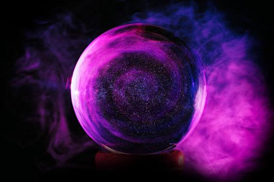 כדור בדולח מגלה עתידות