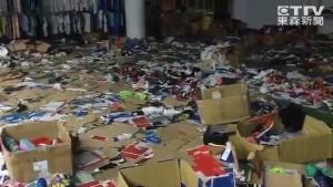 上萬雙鞋滿地丟…「像垃圾堆的特賣會」暫停營業一天