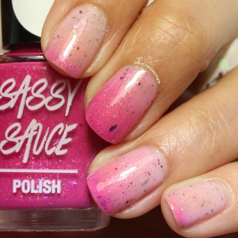 Transitioning Glossy Top Coat