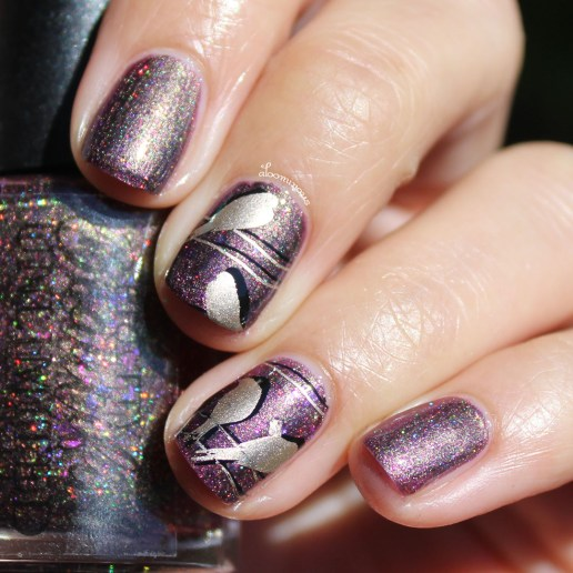 with Nail Art showing shift