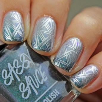 Transition with Nail Art