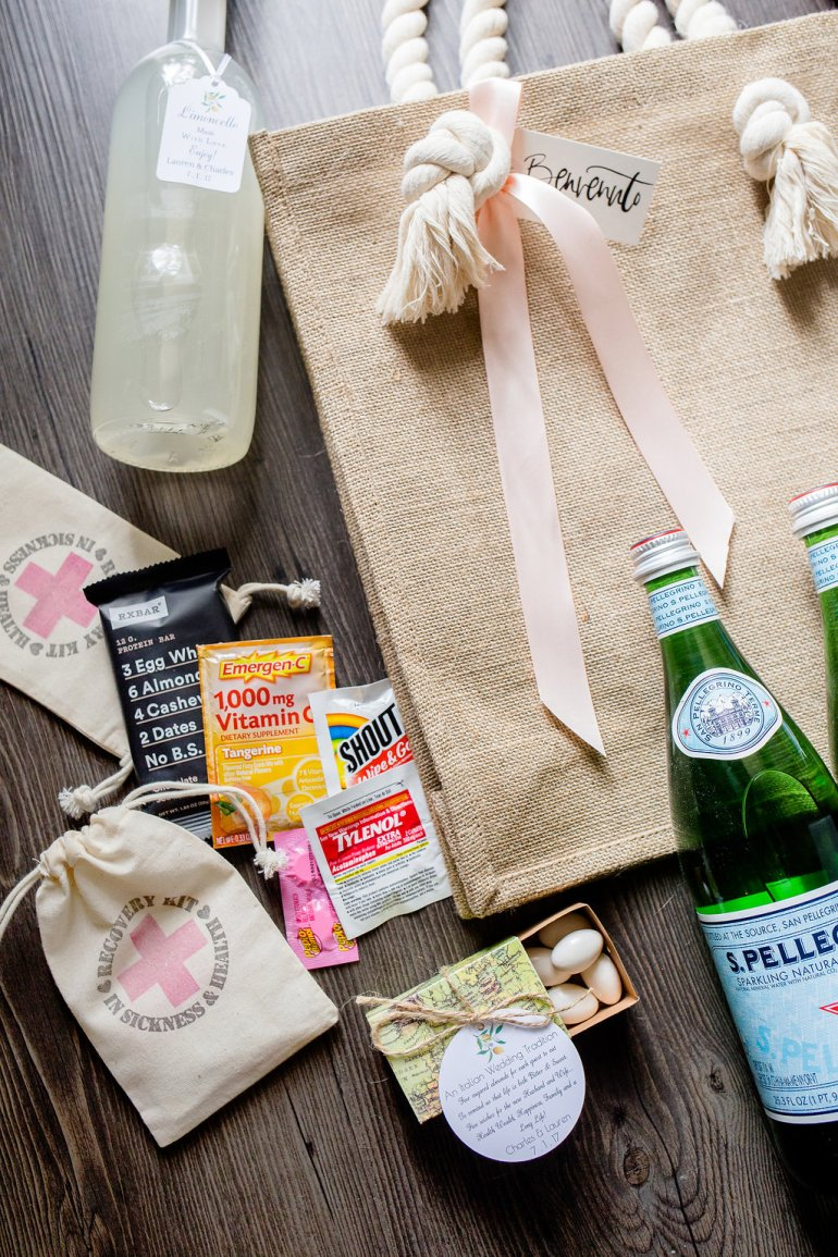 Wedding Welcome Bags - A Lo Profile