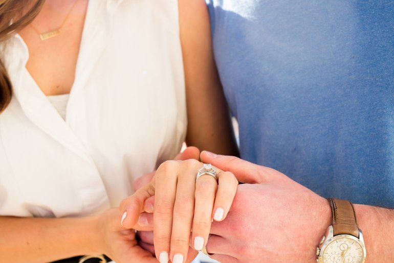 Wedding Wednesday: Wedding band shopping with Robbins Brothers via A Lo Profile. All about our experience, a little hint at what we chose, and a secret about my engagement ring!