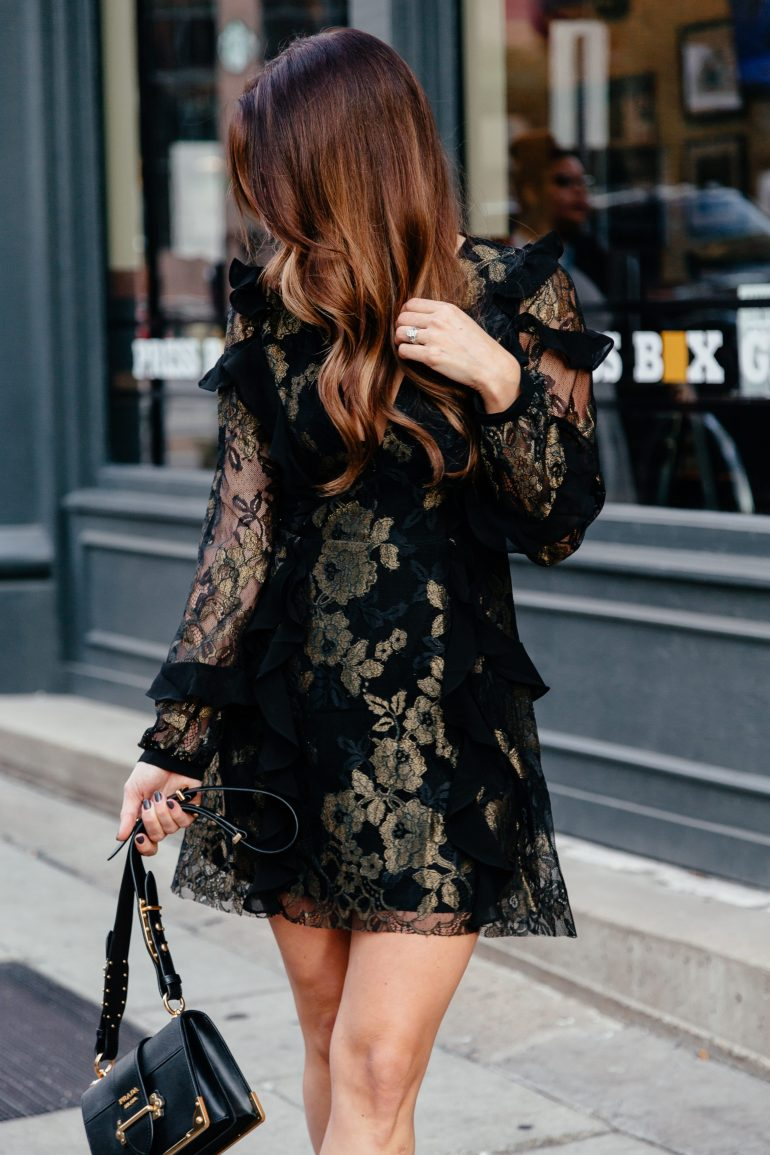 Holiday Party Dresses + 2017 Cyber Week Sales Guide via A Lo Profile