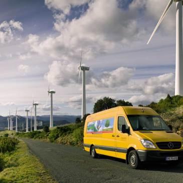 Wir versenden grün – und wurden 2018 erneut mit dem Go Green Zertifikat der DHL ausgezeichnet