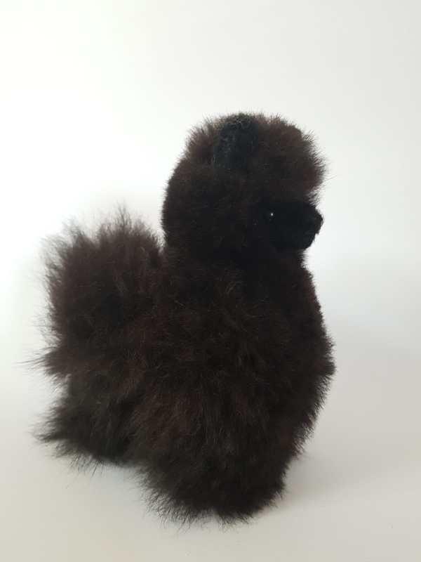 alpaca 15 cm zwart