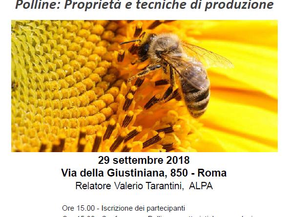 Seminario Tematico - Polline: Proprietà e tecniche di produzione