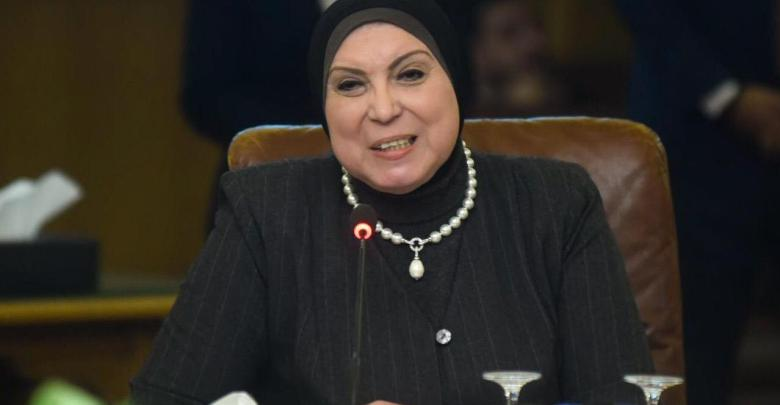 نيفين جامع- وزيرة التجارة والصناعة