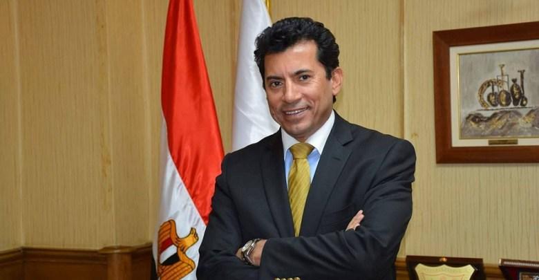 أشرف صبحي- وزير الرياضة